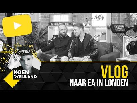 Filmen met EA in Londen! | Vlog!