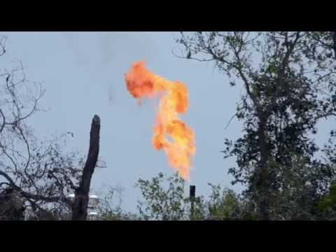 Flares in the Eagle Ford Shale