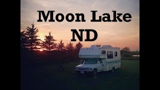ND Free Lakeside Rν Camp: Moon Lake Free Electric Tip, Sunsets, and Beet Bound