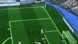 PES 2013 PATCH SEASON 2014/15 GAMEPLAY BARCELONA vs REAL MADRID #NEW#