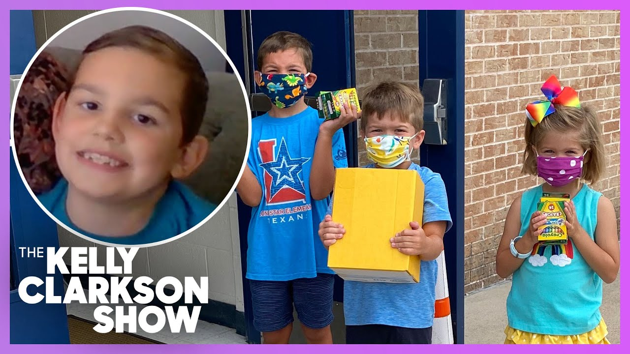 7-Year-Old Inspires Community To Buy School Supplies For Students During Pandemic