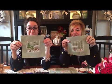 Flosstube #14: Priscilla & Chelsea-The Real Housewives of Cross Stitch