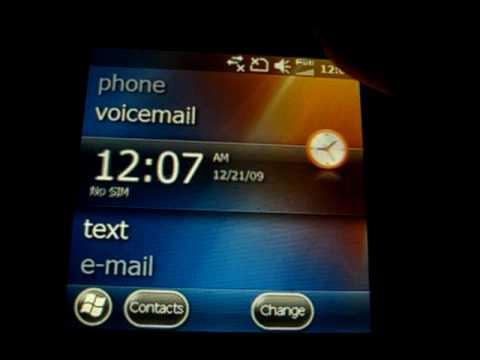 Samsung Epix i907 (SGH-i907) running Windows Mobile WinMo 6.5