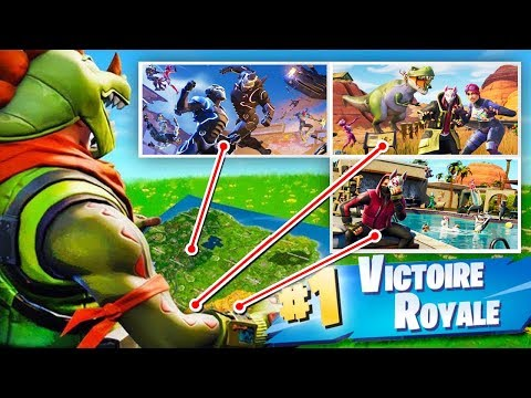 FOND D'ÉCRAN CHALLENGE ! Défi FORTNITE Battle Royale