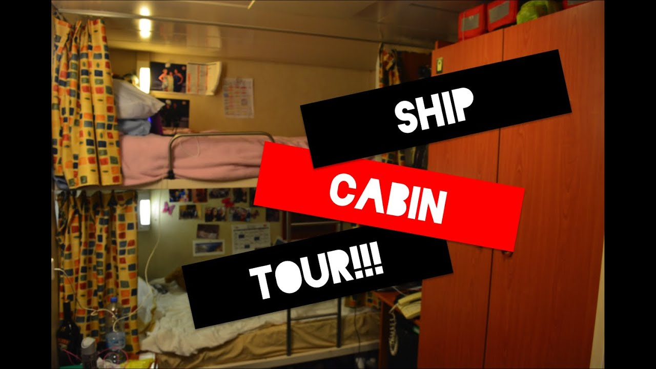 what do the crew cabins look like on cruise ships youtube. Black Bedroom Furniture Sets. Home Design Ideas