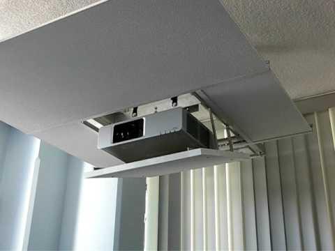 Soporte motorizado para proyectores skydoor skd200 youtube - Soporte pared proyector ...