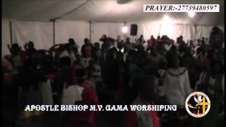 APOSTLE BISHOP M V  GAMA   MOMENTS OF WORSHIP