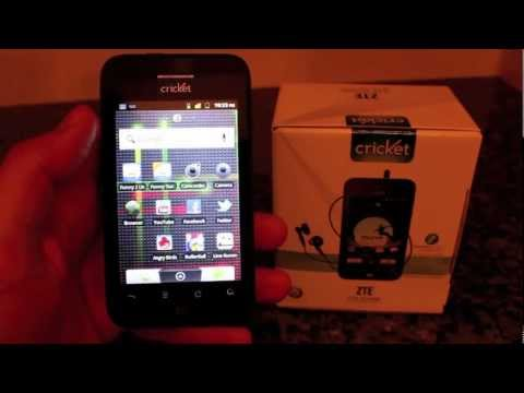 ZTE Score for Cricket Wireless Review - MUVE Music Enabled