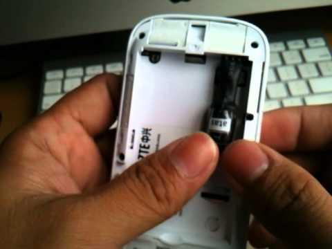 Pemasangan Baterai Batere Battery Dummy ZTE MF90 LTE Bolt