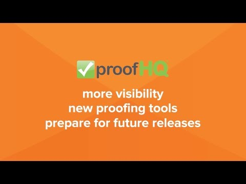 ProofHQ R1 2017 Feature Demo