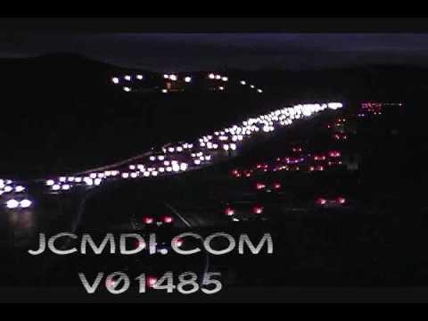 Time lapse traffic Antelope Valley freeway 14 V01485