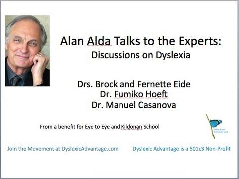 Alan Alda Talks with the Eides About Dyslexia