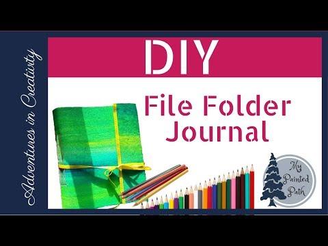 DIY File Folder Journal