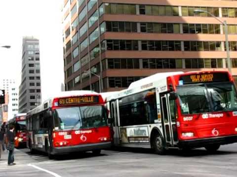 Ottawa-Carleton Transpo: Downtown Transitway Action
