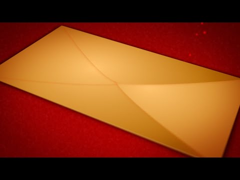 Animated Christmas Card Template - Christmas Card Envelope