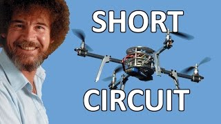 Tinman Electronics 9 - Short circuit on the quadcopter board