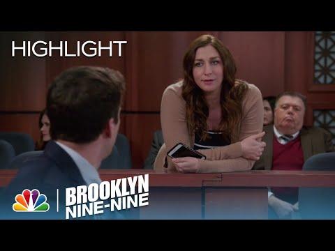 Gina Tells Jake That She Has Her Eye On The Jury | Season 4 Ep. 22 | BROOKLYN NINE-NINE