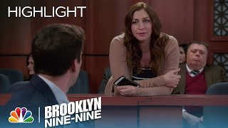 Gina Tells Jake That She Has Her Eye On The Jury | Season 4 Ep. 22 | BROOKLYN NINE-NINE