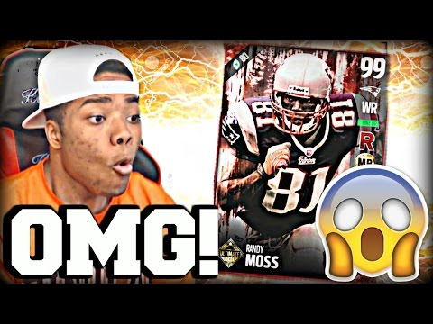 Randy Moss Broke Madden 17! 99 Speed Exposed his Defense! | Madden 17 Ultimate Team Gameplay