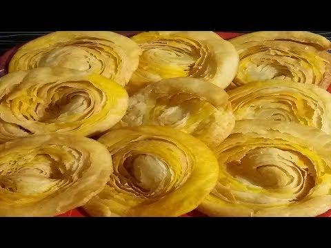 khaja recipe in hindi || how to make khaja at home || chirote in marathi /Urdu