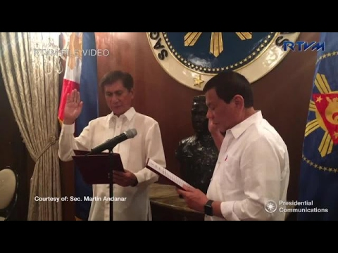 Palace: Duterte believes Cimatu can balance environment, mining concerns