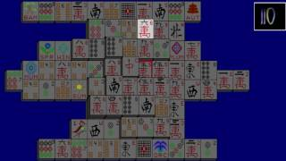 MAHJONGG - PSX - HOMEBREW - GAMEPLAY