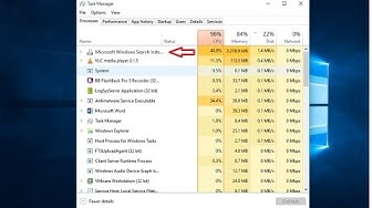 Solved: Windows Search Indexer Usages High CPU on Windows 10 1909