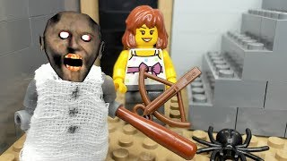 GRANNY LEGO THE HORROR GAME ANIMATION:  Scary Granny and Fake Granny