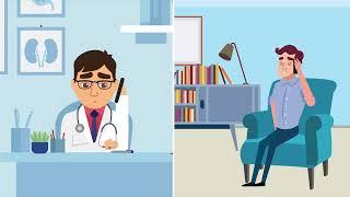 סרטון אנימציה למכבי שירותי בריאות - הזמנת תור