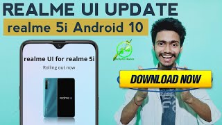 Official realme UI for realme 5i Download Now | realme UI Official Android 10 | Manual Update