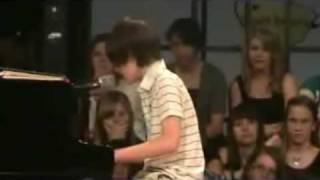 Amazing Lady Gaga Paparazzi Piano Music by Boy Prodigy Greyson Michael Who Looks Like Justin Bieber
