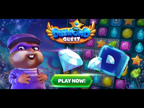 Diamond Quest - Match 3 puzzle