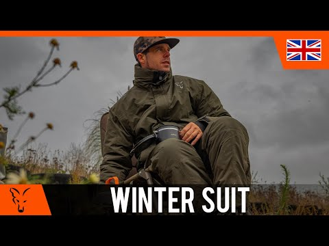 ***CARP FISHING TV*** Green & Silver Winter Suit