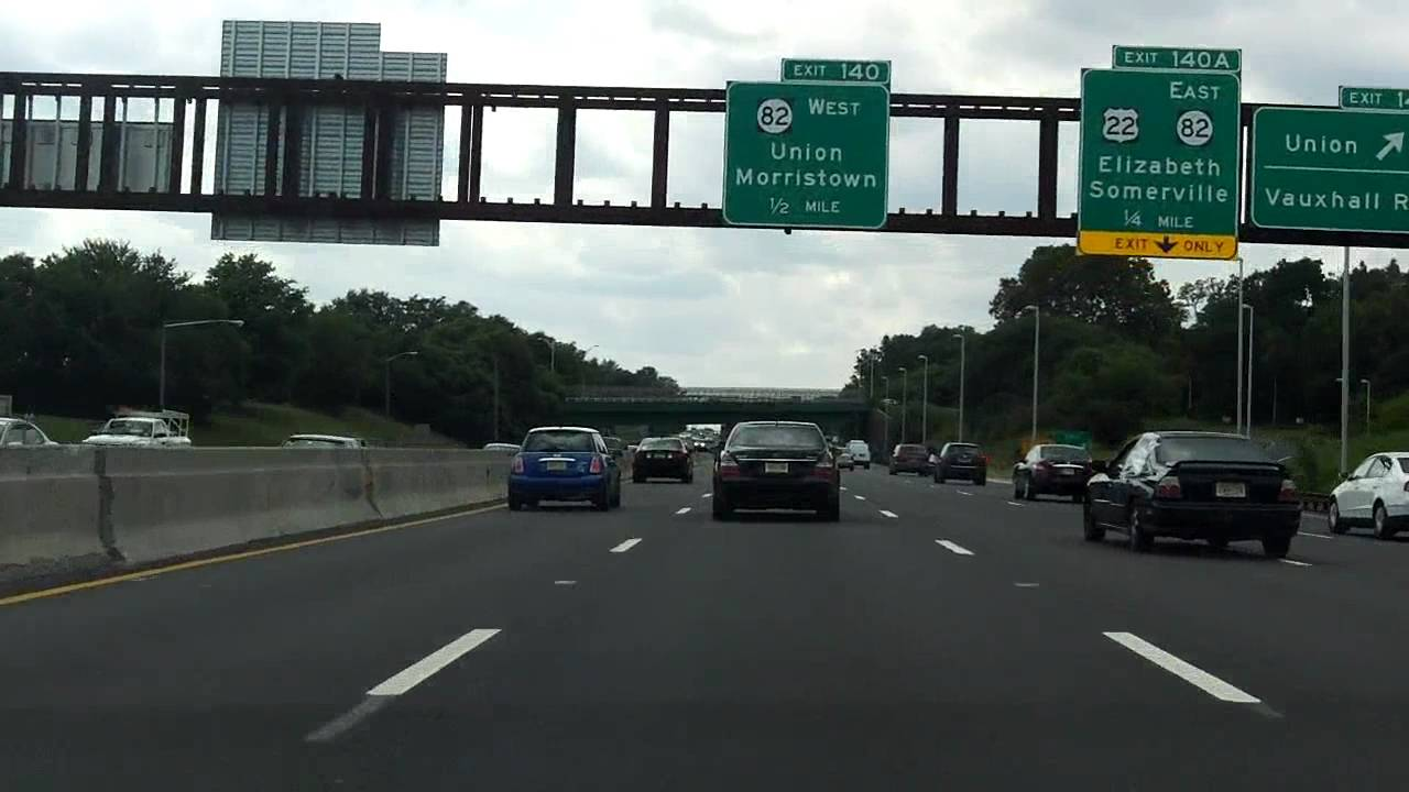 Garden State Parkway Exits 142 To 135 Southbound Youtube
