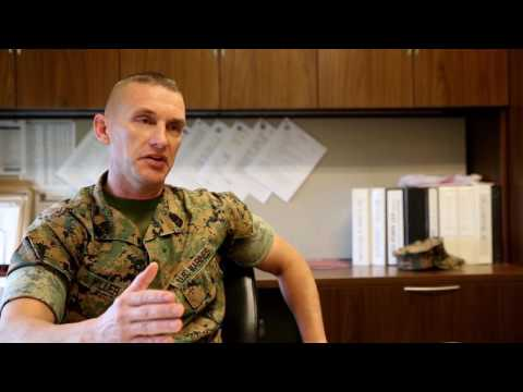 Q&A with Sgt. Maj. Miller - Why did you stay in the Marine Corps?