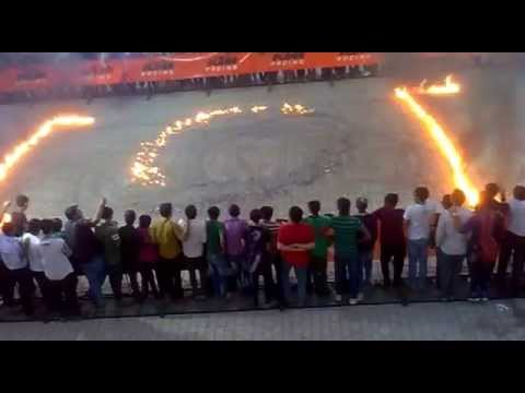 KTM Bike Stunts Amesing Fire Stunts.....AT RAJKOT