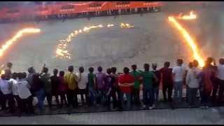 KTM Bike Stunts Amesing Fire Stunts.....AT RAJKOT