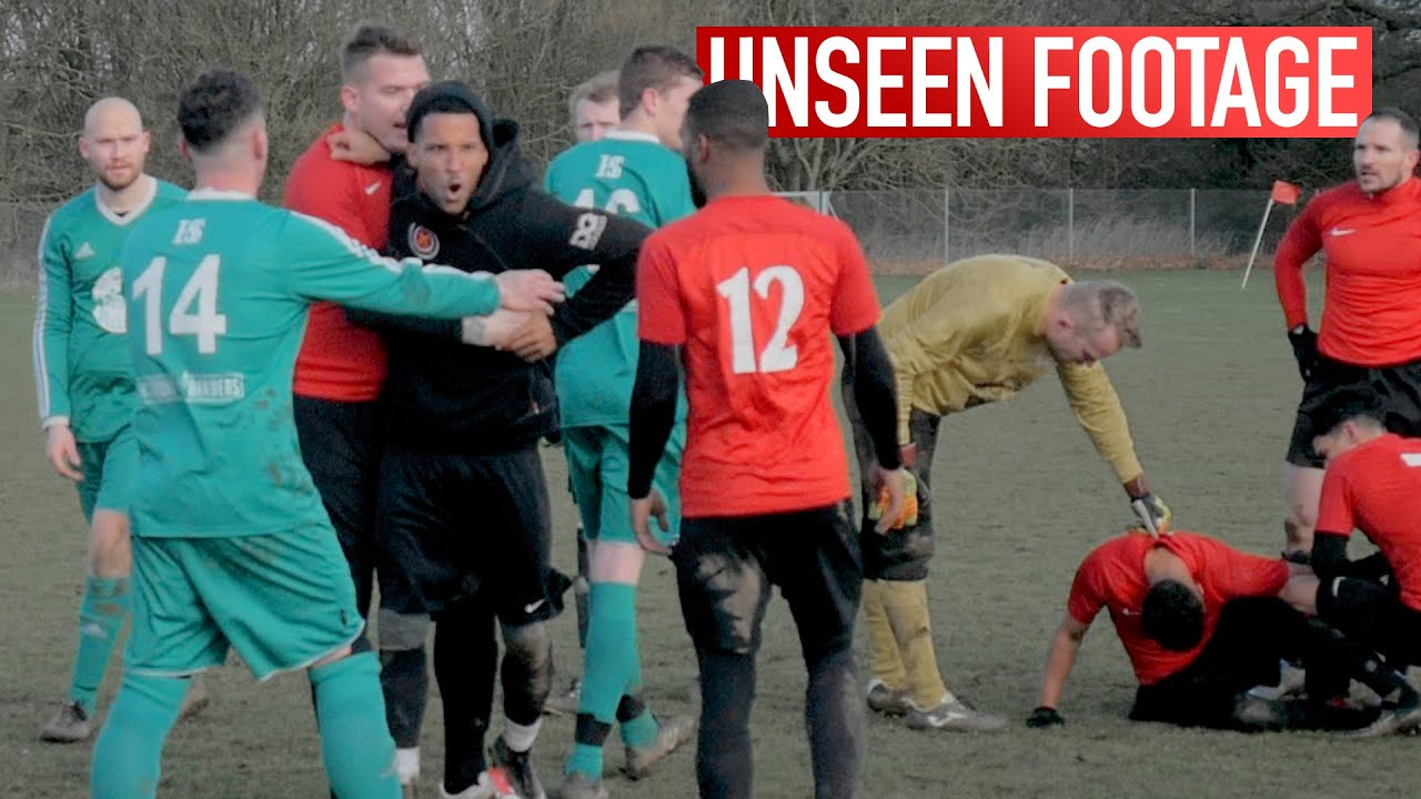 FUNNY MOMENTS, FIGHTS (HANDBAGS) & UNSEEN FOOTAGE | Sunday League Football | Kitchener FC