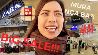 Japan Shopping Sale | Is it really cheap? (H&M, UNIQLO, FOREVER 21, GU, ZARA) V:32