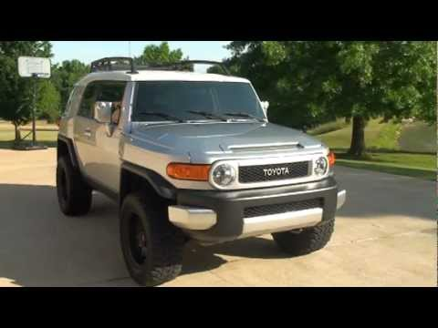 Beautiful 2007 TOYOTA FJ CRUISER 4X4 LIFT KIT U0026 WHEELS 6 SPEED FOR SALE SEE  WWW.SUNSETMILAN.COM.MPG