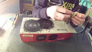Unboxing reproduktorů+ montáž [FoggyGoggy]