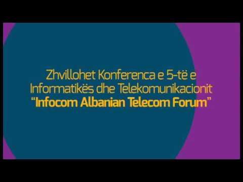 5th InfoCom 2013 Albania Conference   Trailer