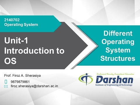1.06 - Operating System Structure Part I