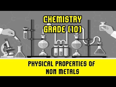 10 science metal and non metals