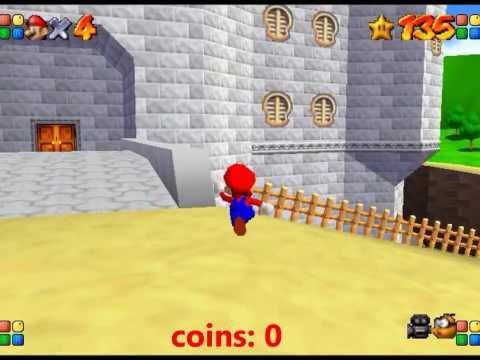 SM64 - Castle Grounds - 15 Coins