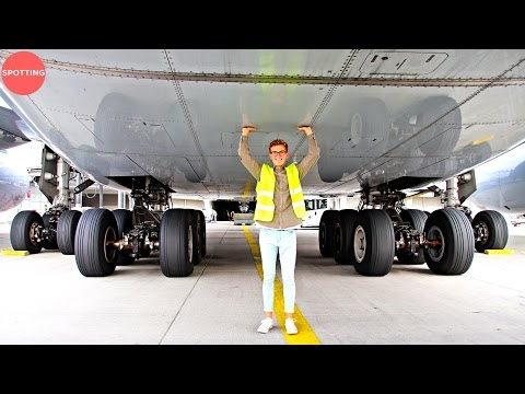 Tickling The Lufthansa Airbus A380 | The World