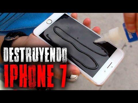 IPhone 7 Plus Pegado Al Piso