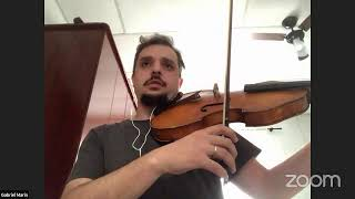 24/07 às 15h - Masterclass Viola c/ Gabriel Marin