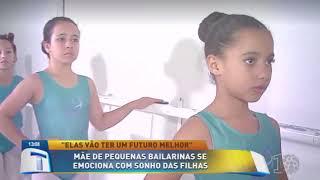 Reportagem Projeto Novos Sonhos na Tribuna da Massa - Escola D.O.M