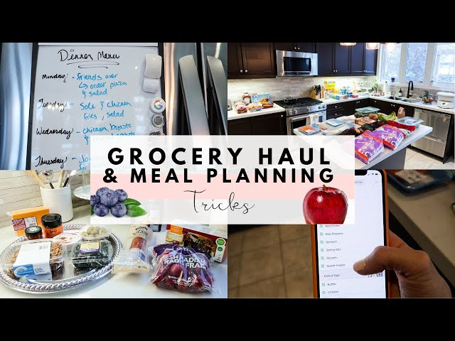 Grocery Haul & Meal Planning Tricks | Four Kids | February 2020